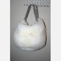 Chullo Purse With Chainlink Handle