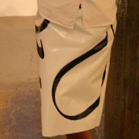 Custom Straight Skirt